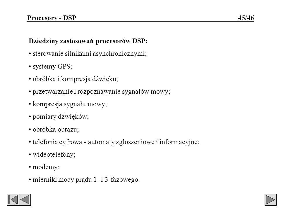 Procesory - DSP 45/46