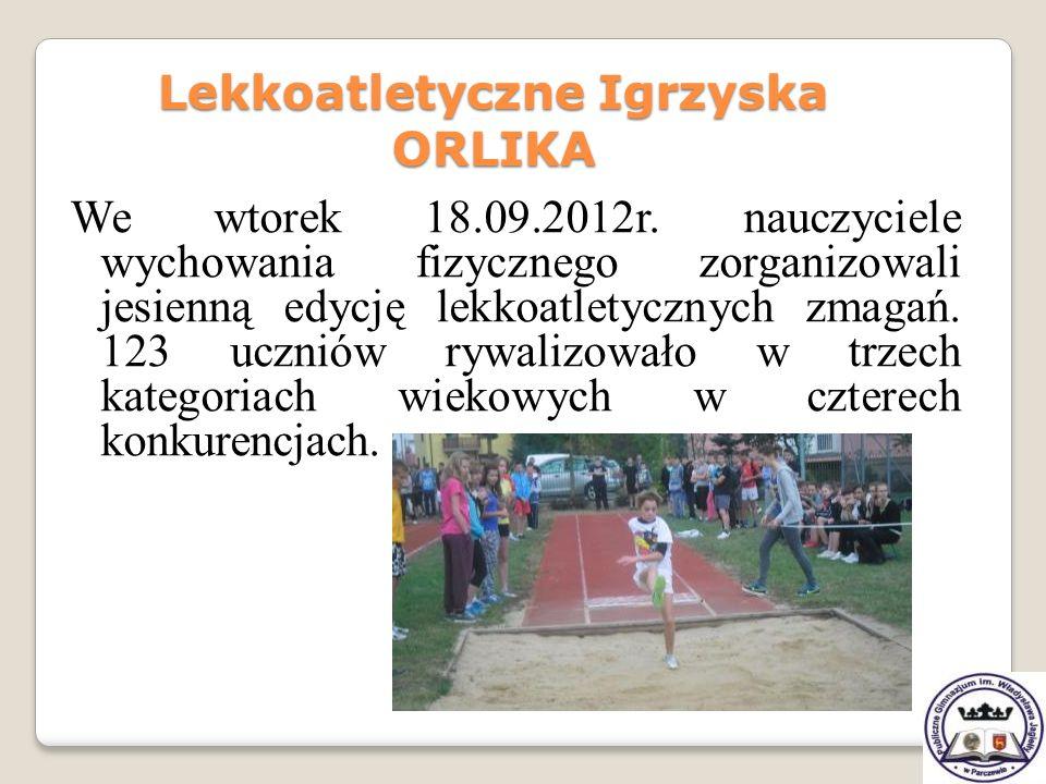 Lekkoatletyczne Igrzyska ORLIKA