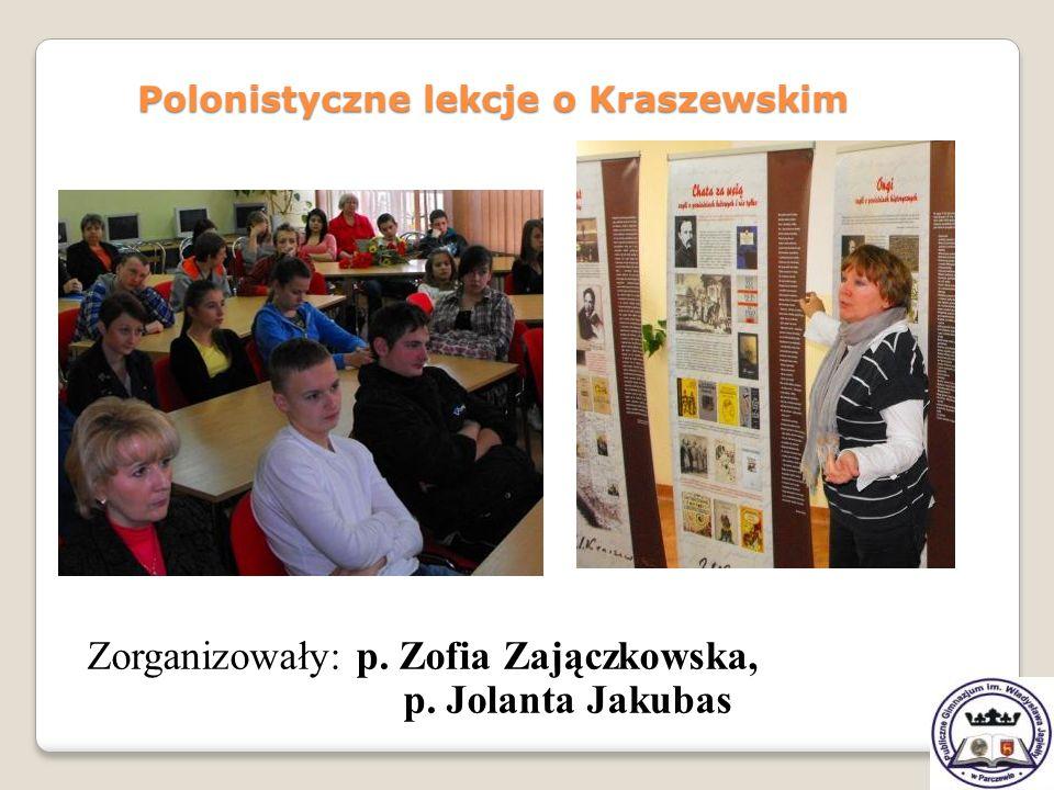 Polonistyczne lekcje o Kraszewskim