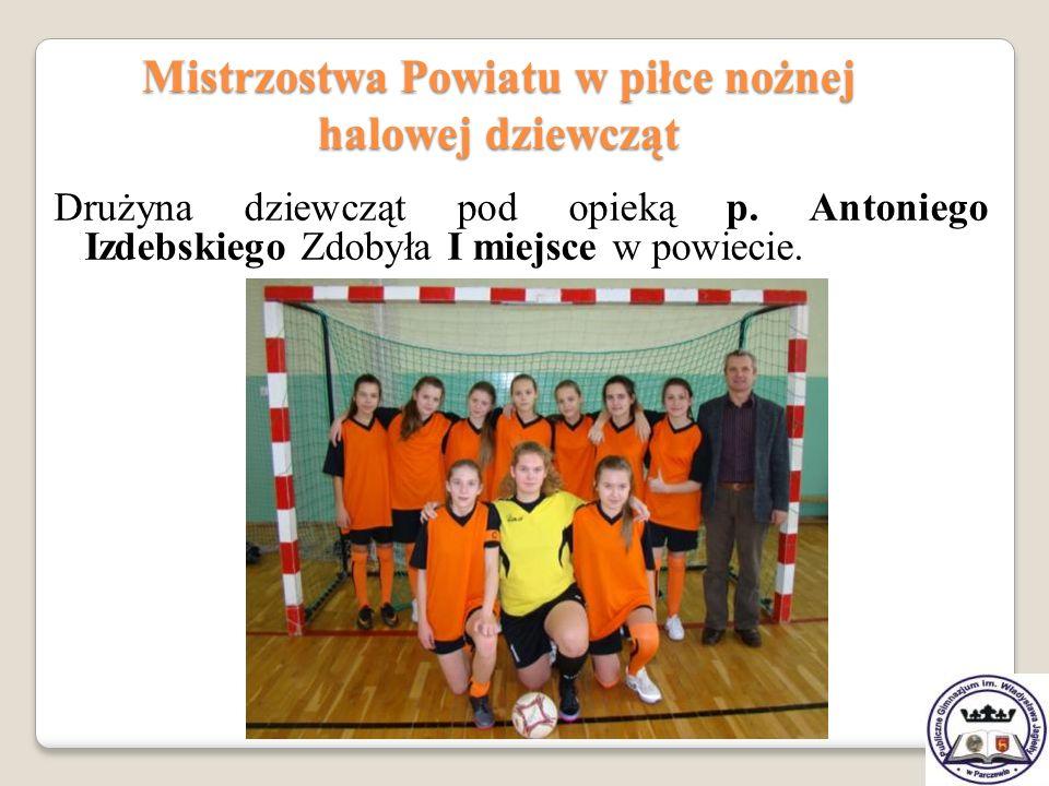 Mistrzostwa Powiatu w piłce nożnej halowej dziewcząt