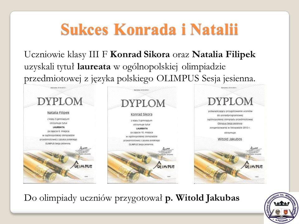Sukces Konrada i Natalii