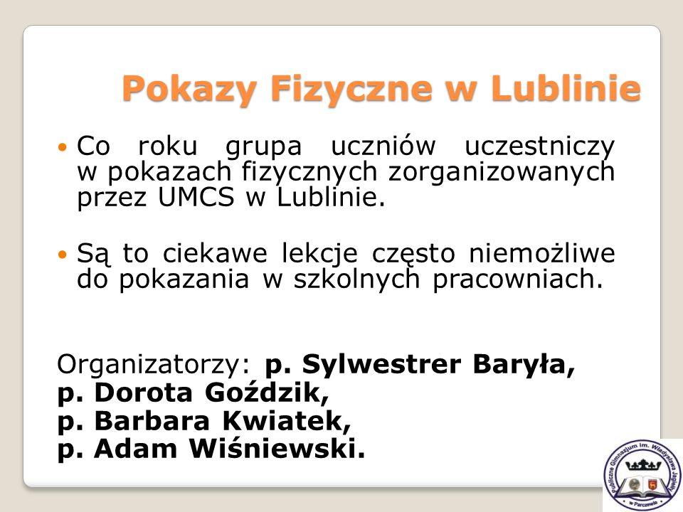 Pokazy Fizyczne w Lublinie