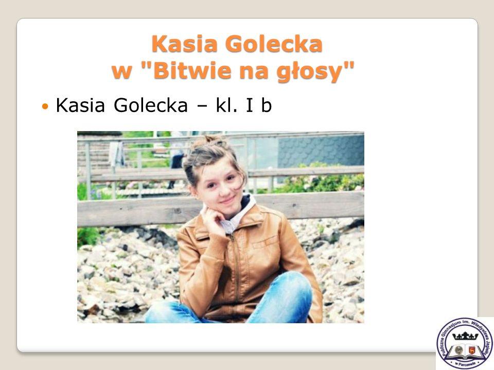 Kasia Golecka w Bitwie na głosy