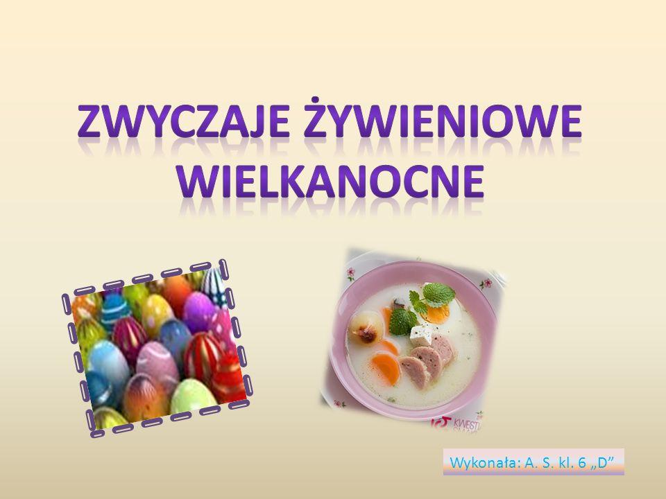 Zwyczaje żywieniowe Wielkanocne