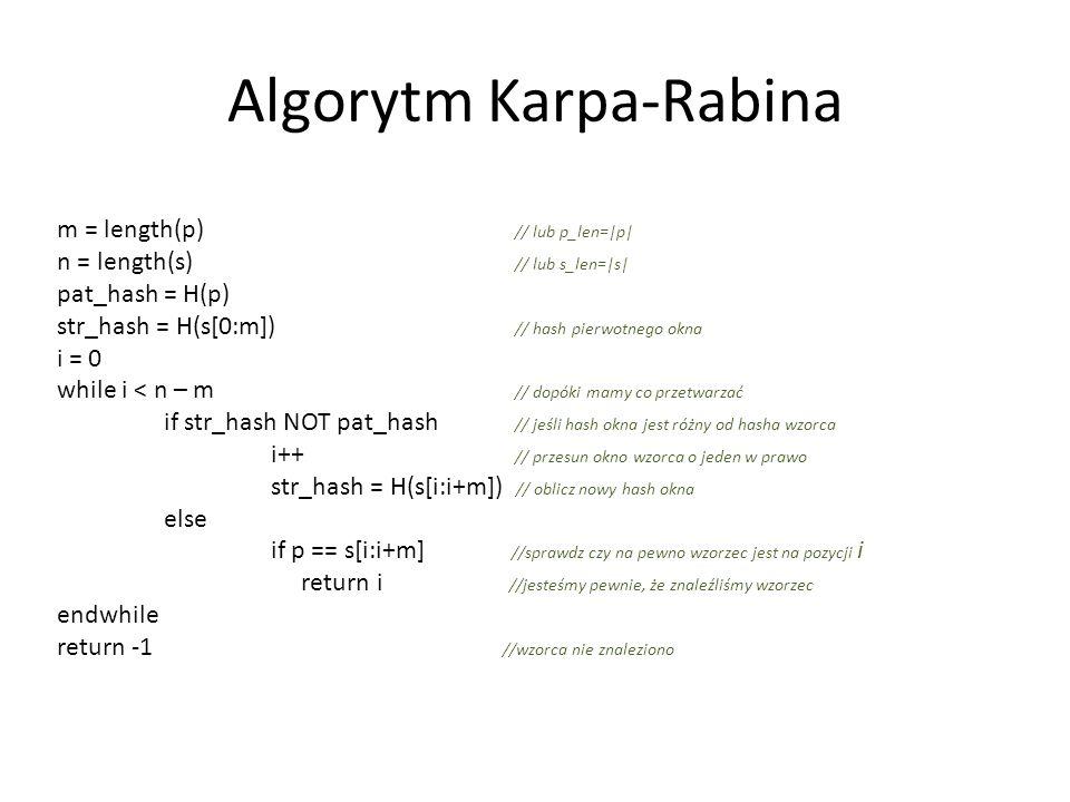 Algorytm Karpa-Rabina