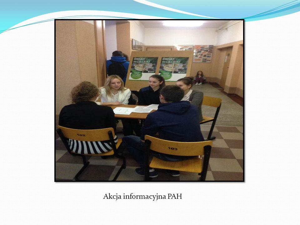 Akcja informacyjna PAH