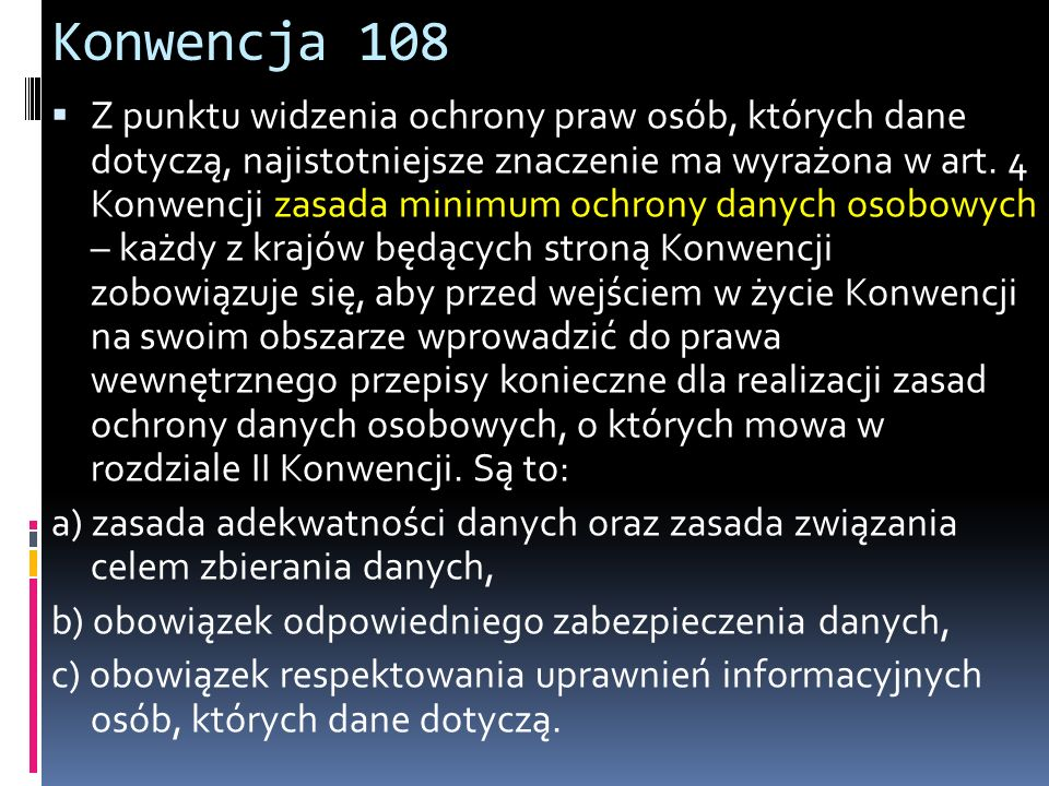 Konwencja 108
