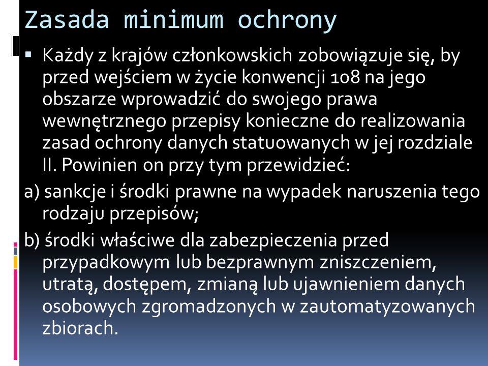 Zasada minimum ochrony
