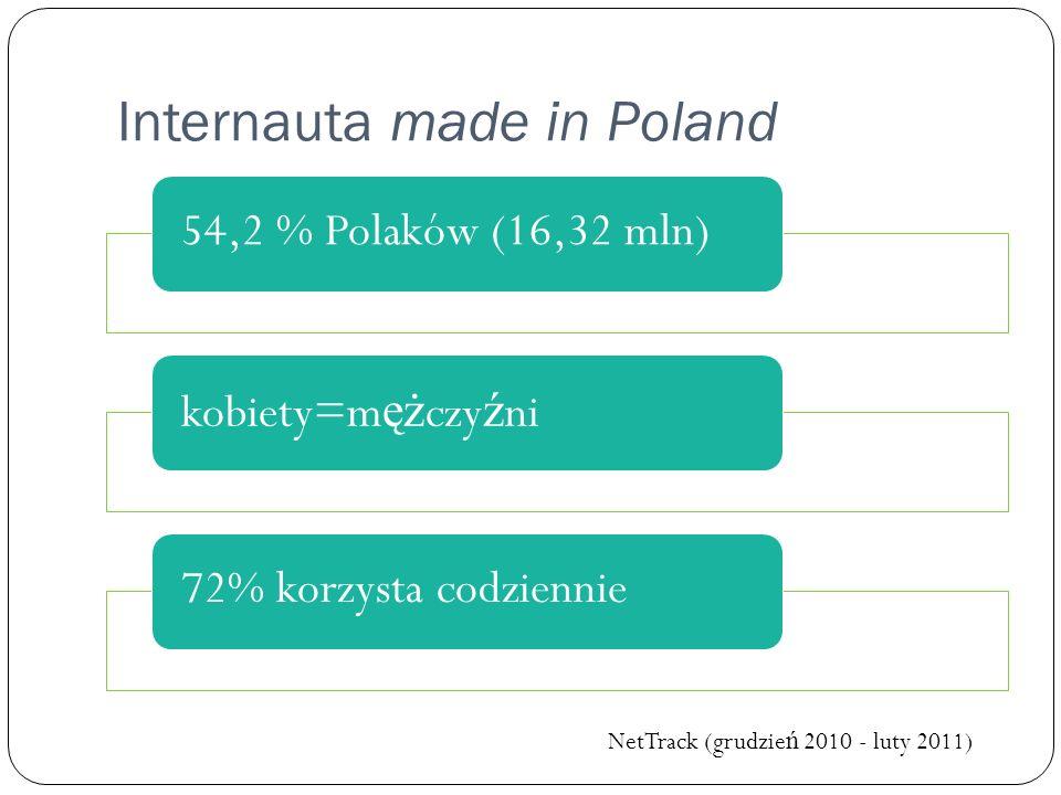 Internauta made in Poland