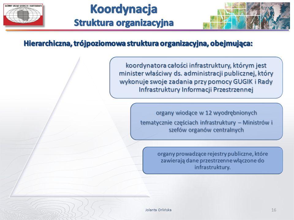 Koordynacja Struktura organizacyjna