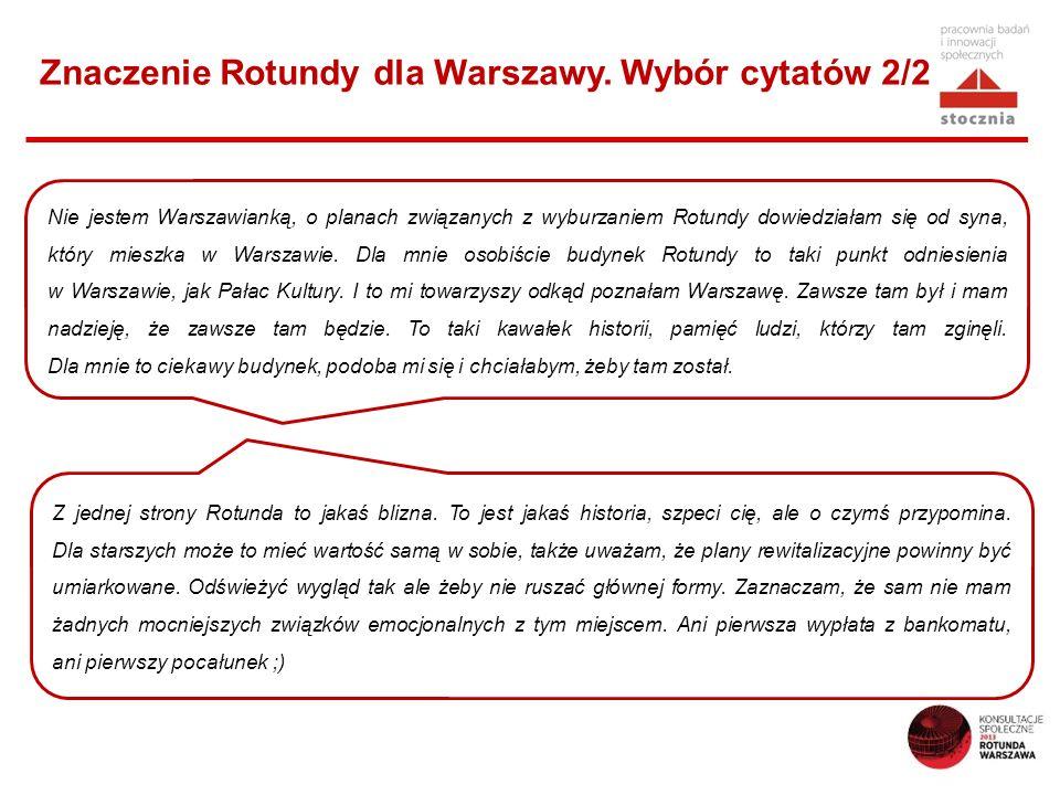 Znaczenie Rotundy dla Warszawy. Wybór cytatów 2/2
