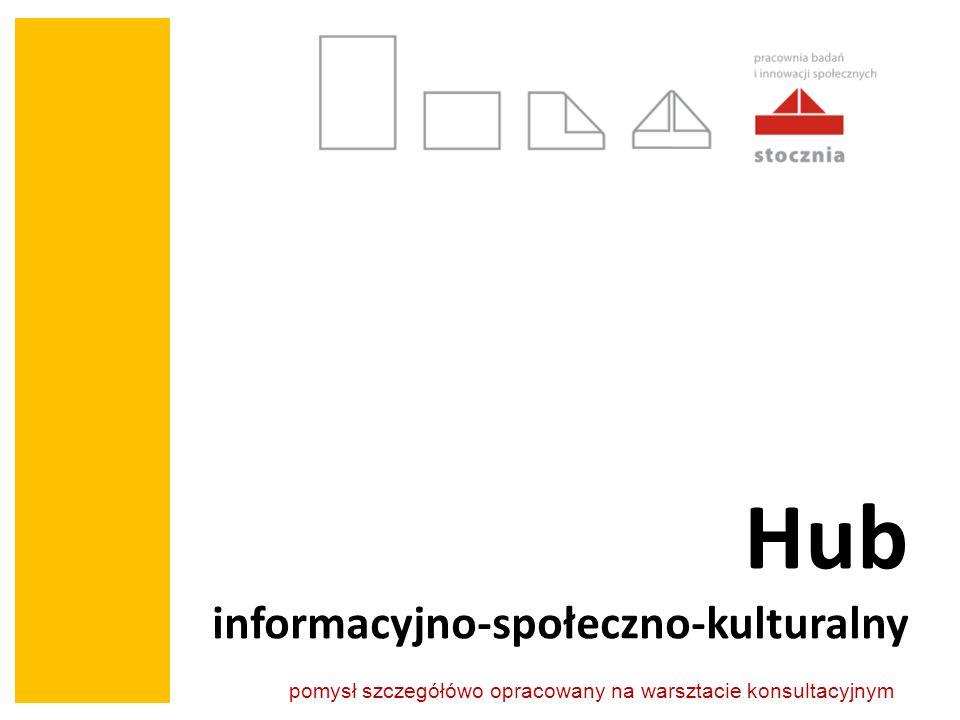 Hub informacyjno-społeczno-kulturalny