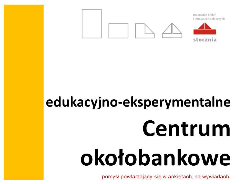 edukacyjno-eksperymentalne Centrum okołobankowe