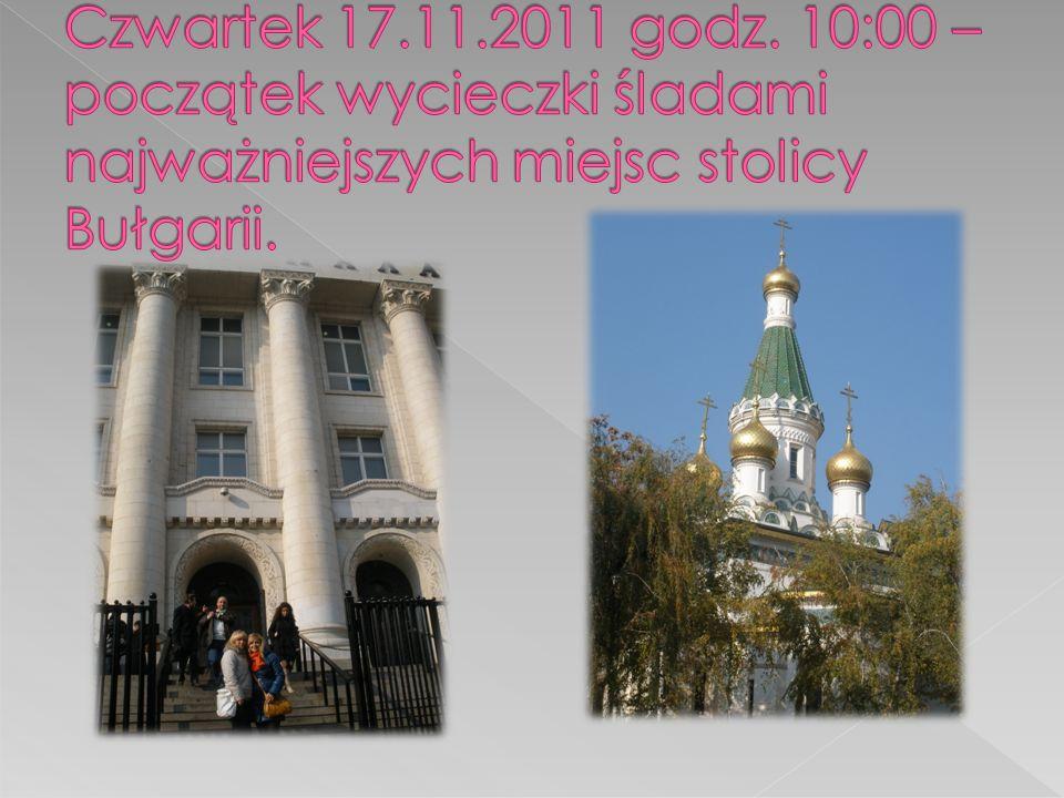 Czwartek 17.11.2011 godz.