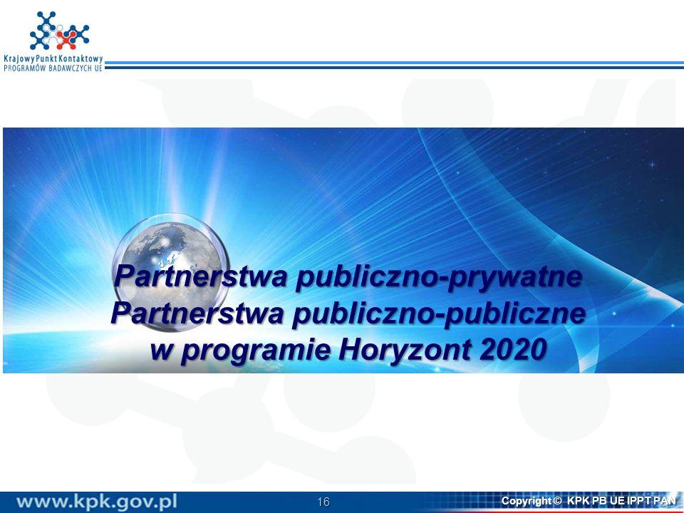 Partnerstwa publiczno-prywatne Partnerstwa publiczno-publiczne