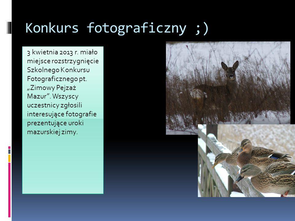 Konkurs fotograficzny ;)