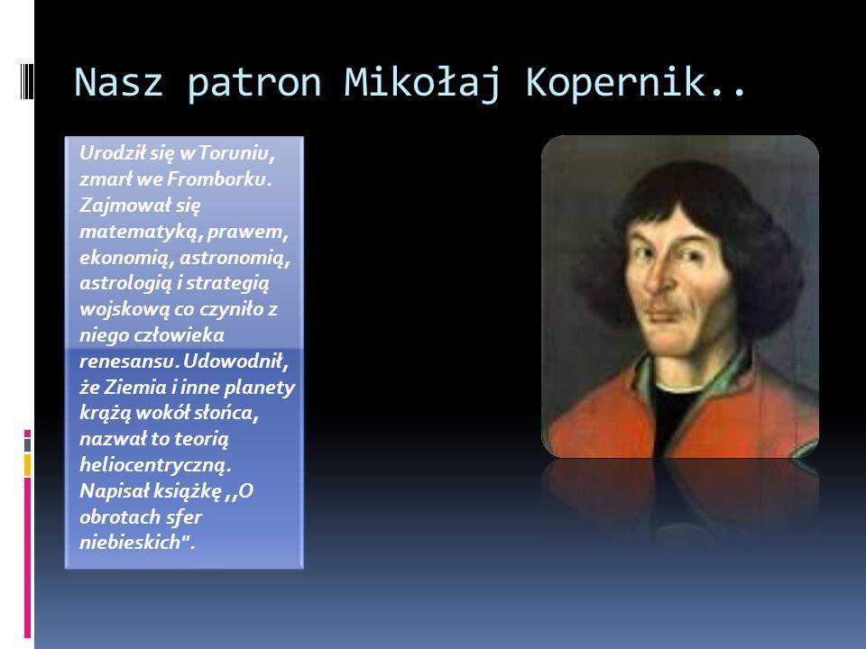 Nasz patron Mikołaj Kopernik..