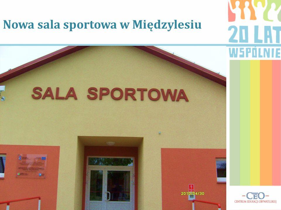 Nowa sala sportowa w Międzylesiu
