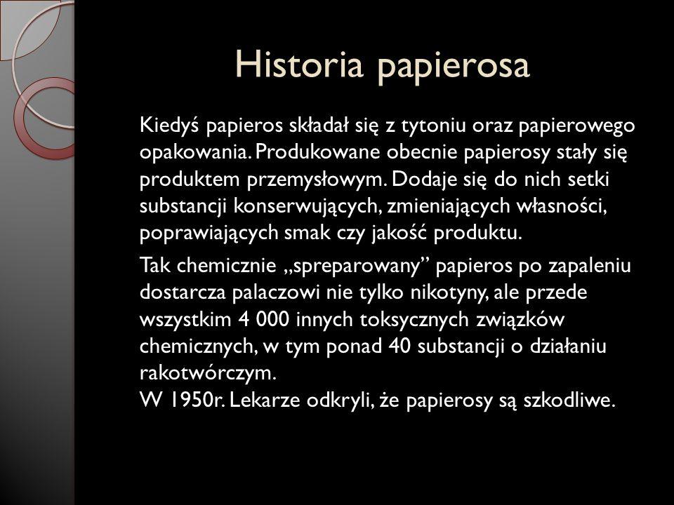 Historia papierosa