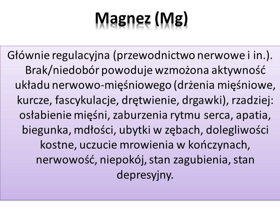 Magnez (Mg)