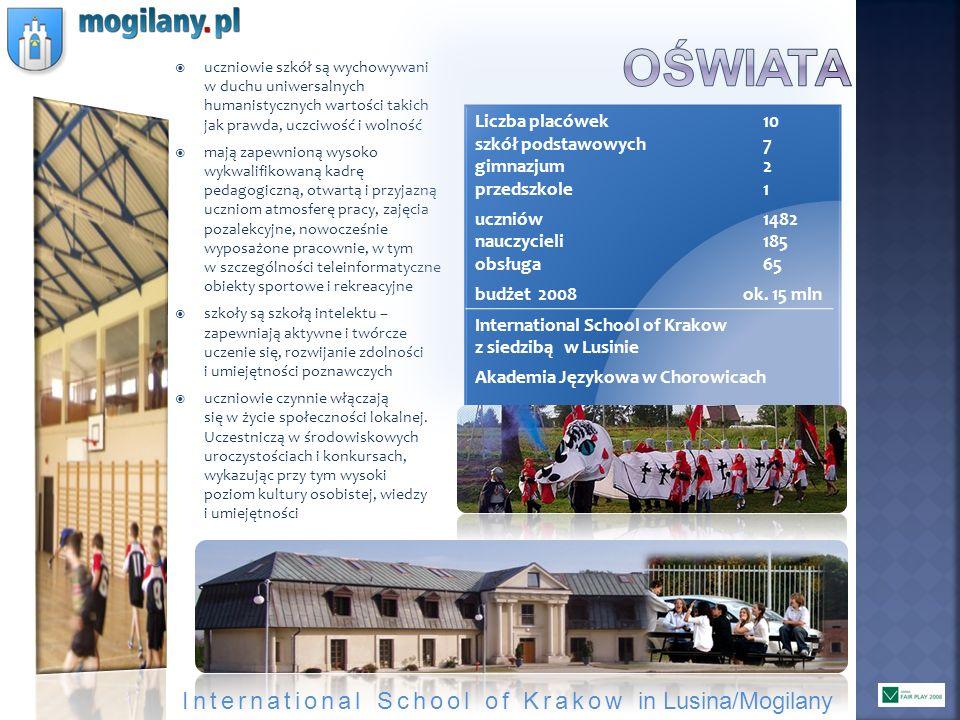 oświata International School of Krakow in Lusina/Mogilany