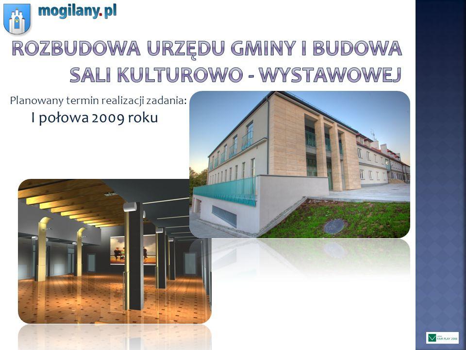 Rozbudowa urzędu gminy i budowa Sali kulturowo - wystawowej