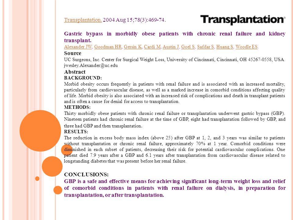 Transplantation. 2004 Aug 15;78(3):469-74.