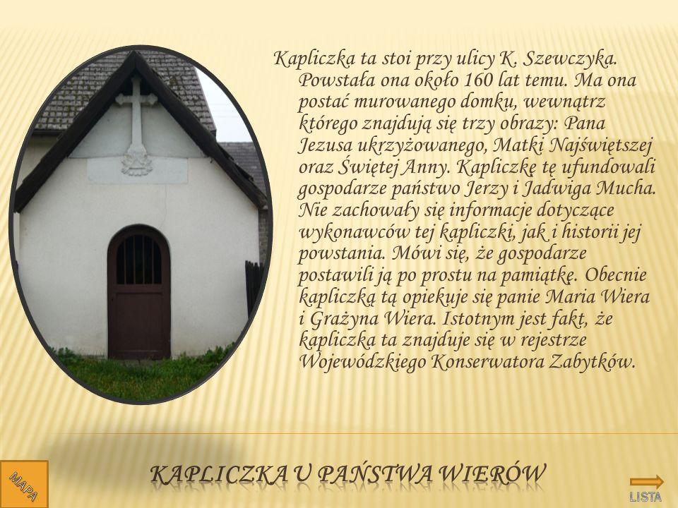 Kapliczka u państwa wierów