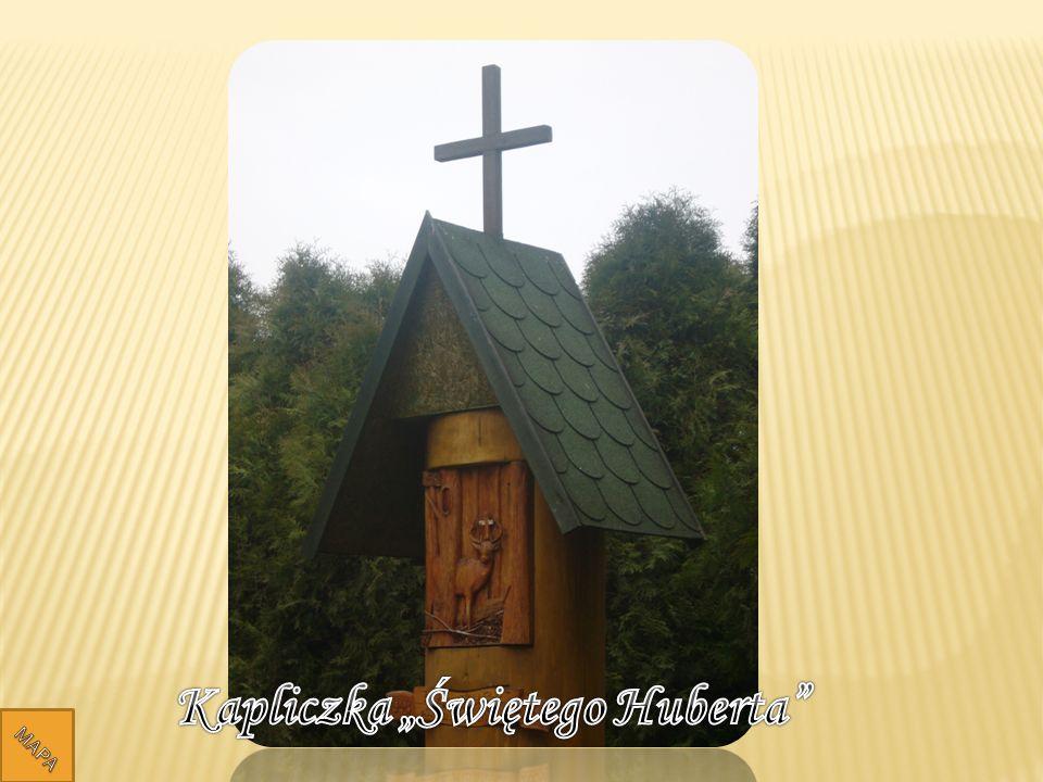 """Kapliczka """"Świętego Huberta"""