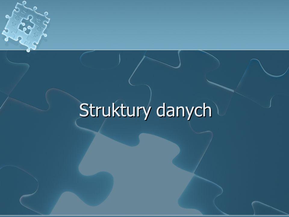 Struktury danych