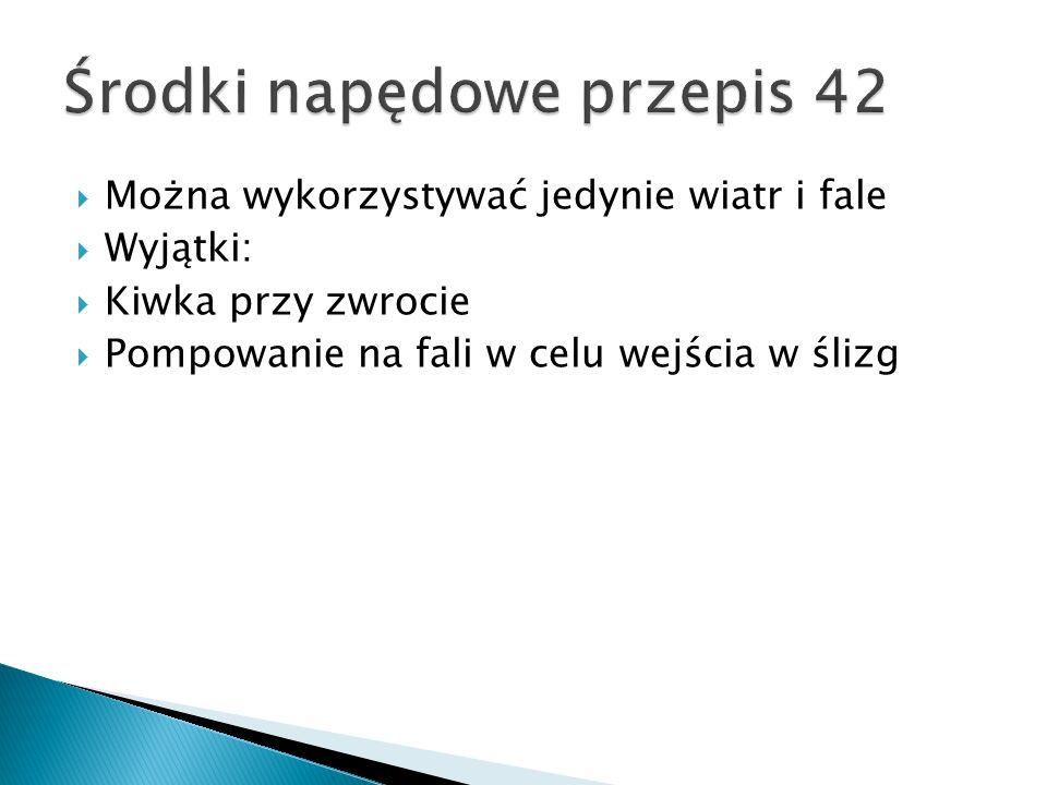 Środki napędowe przepis 42