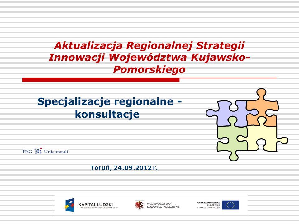 Specjalizacje regionalne - konsultacje