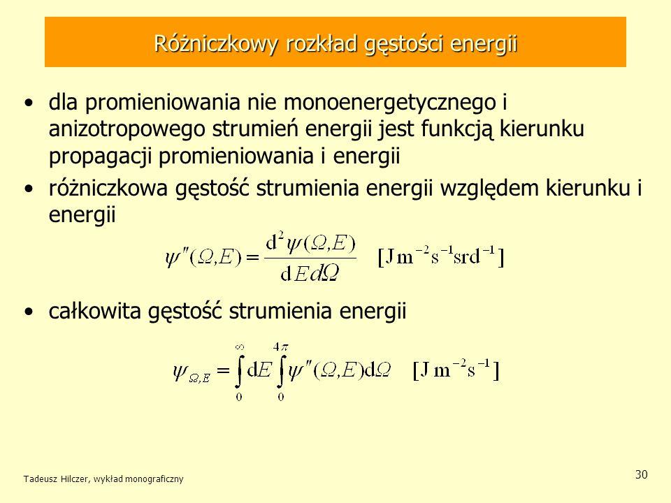 Różniczkowy rozkład gęstości energii