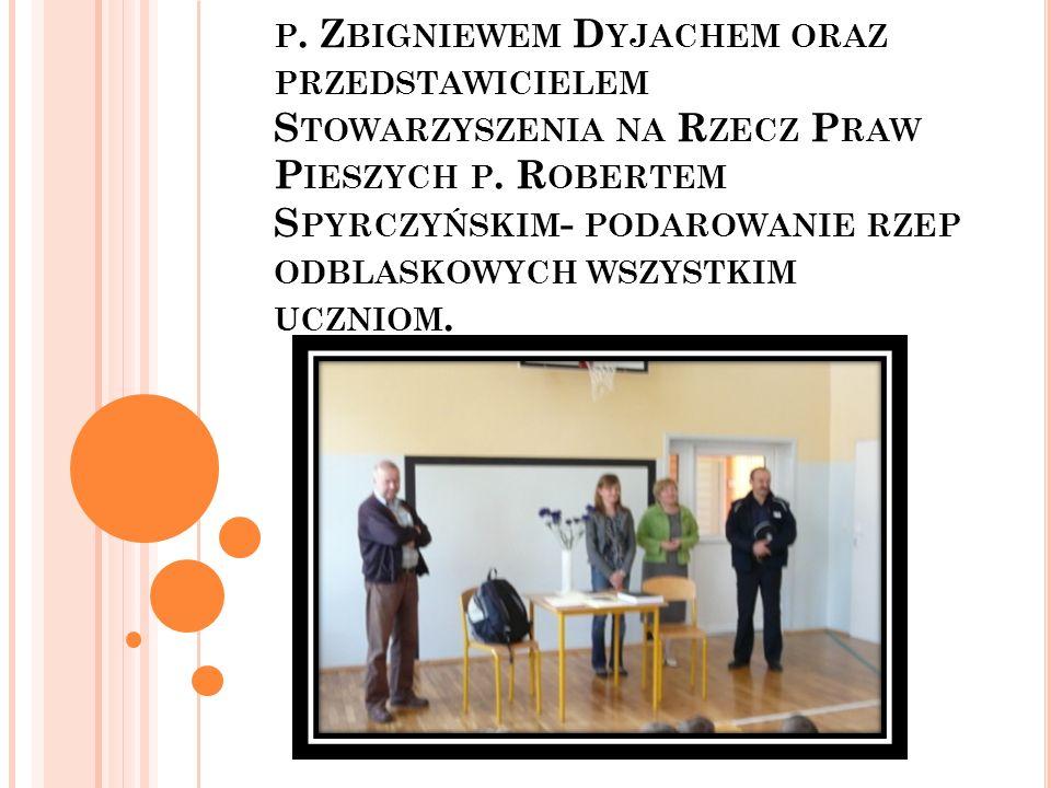 9. 09 Prelekcja nt. bezpieczeństwa z dzielnicowym p