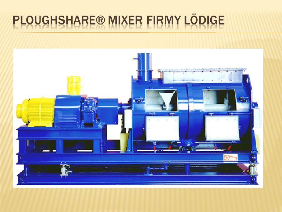 Ploughshare® Mixer firmy lÖdige