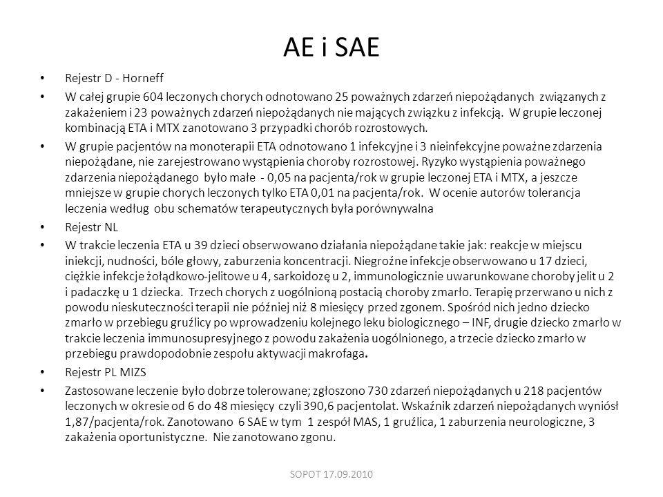 AE i SAE Rejestr D - Horneff