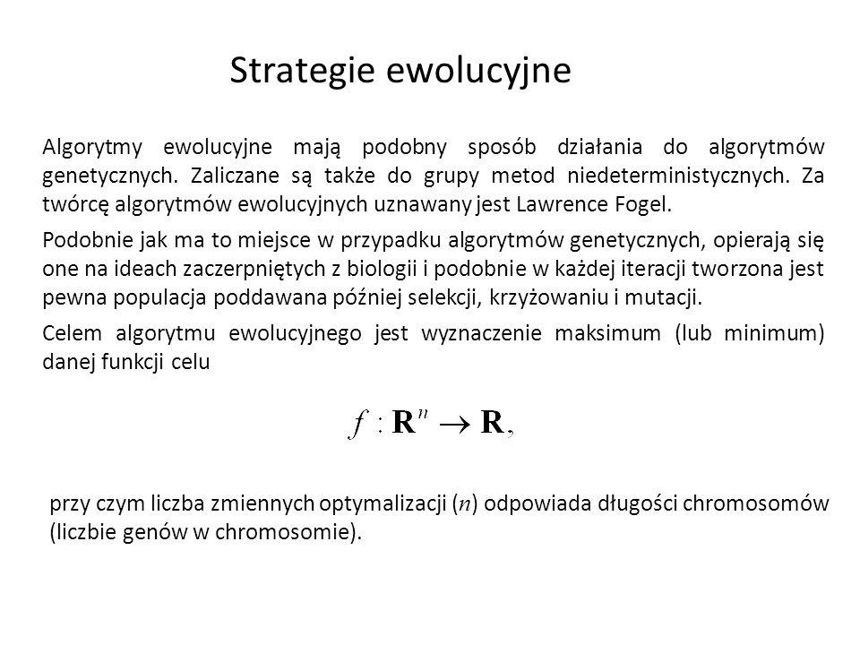 Strategie ewolucyjne
