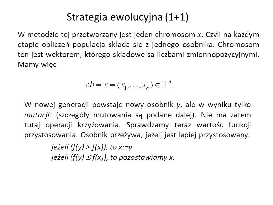 Strategia ewolucyjna (1+1)