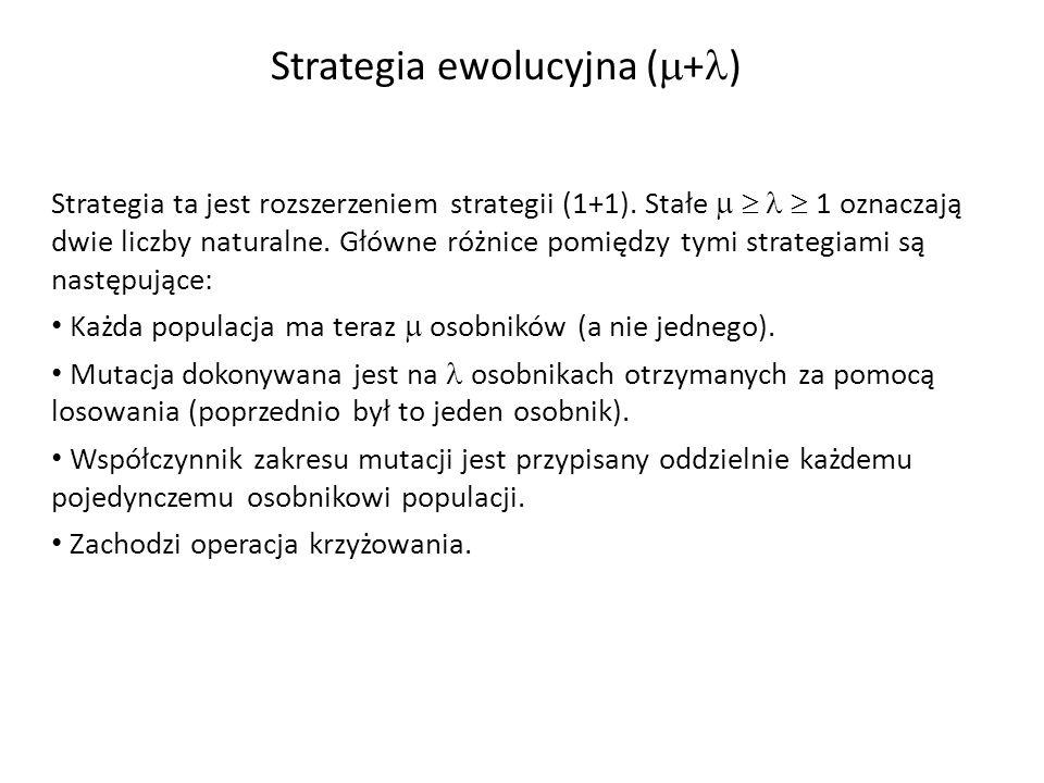 Strategia ewolucyjna (+)