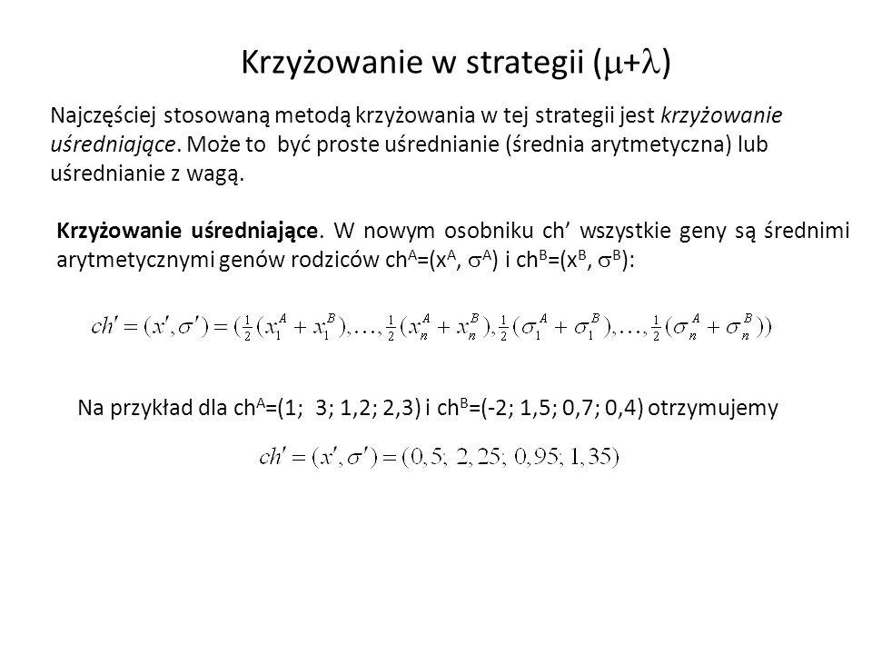 Krzyżowanie w strategii (+)