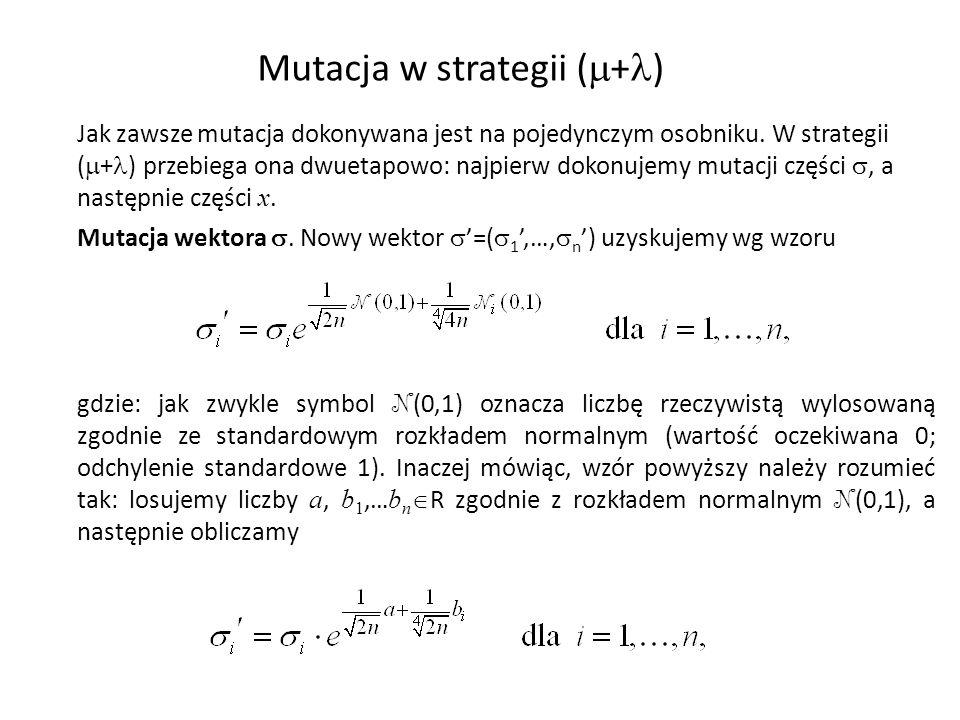Mutacja w strategii (+)