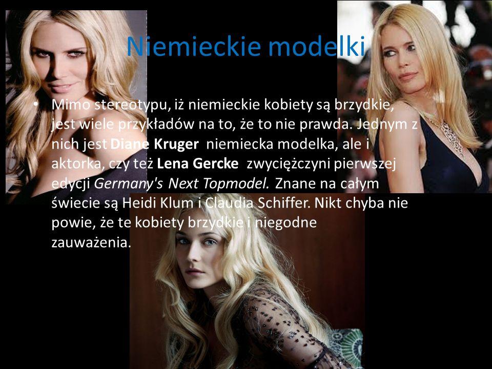 Niemieckie modelki