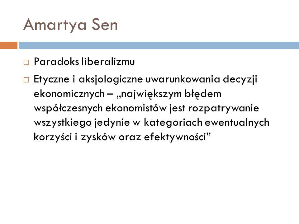 Amartya Sen Paradoks liberalizmu