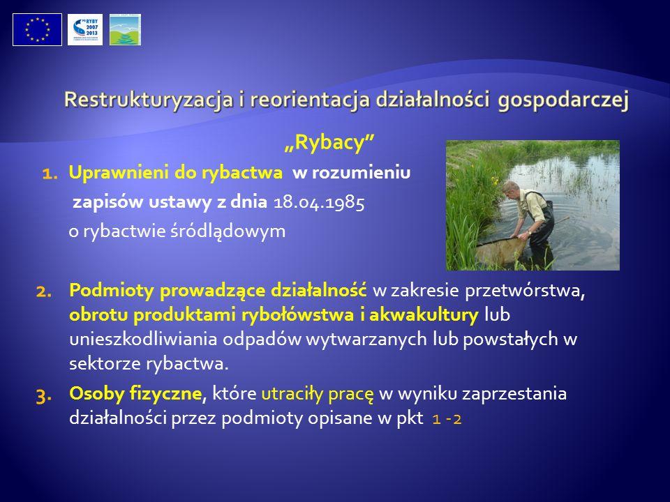 Restrukturyzacja i reorientacja działalności gospodarczej