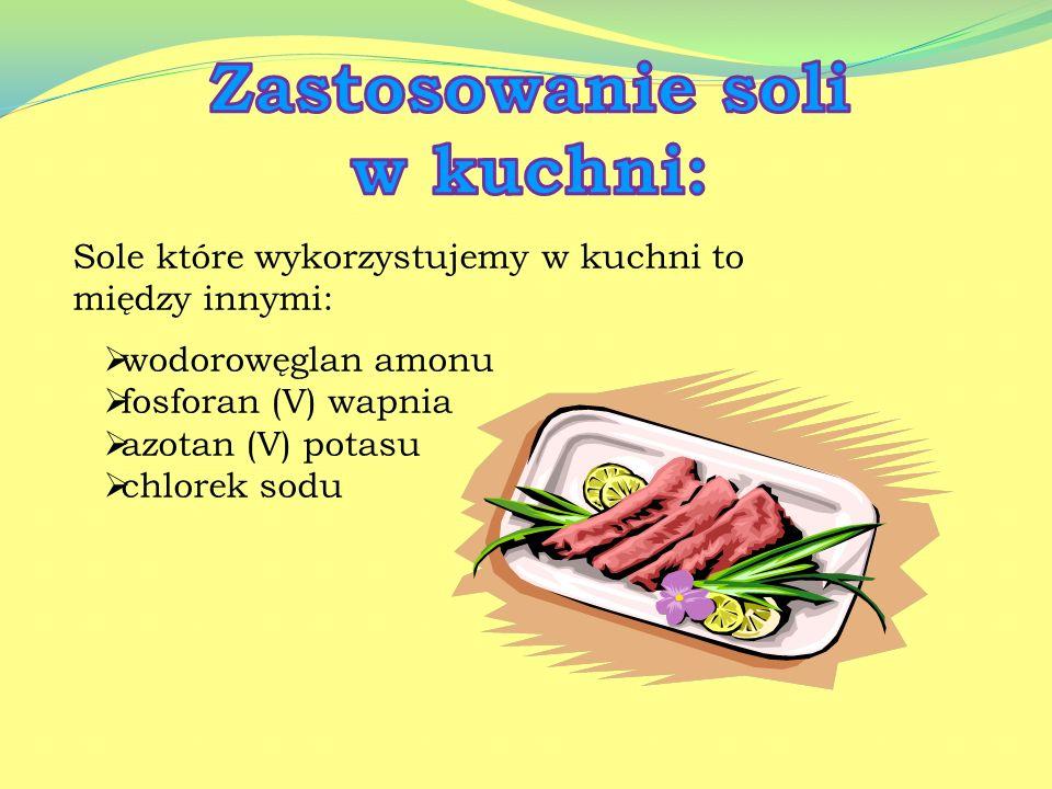 Zastosowanie soli w kuchni: