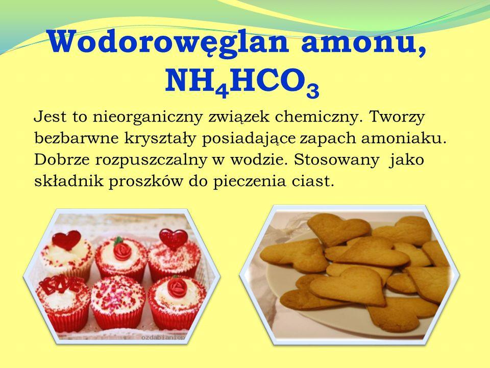 Wodorowęglan amonu, NH4HCO3