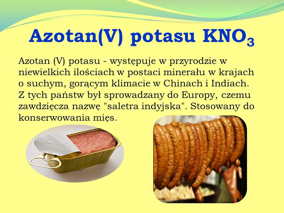 Azotan(V) potasu KNO3