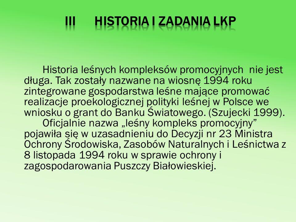 III Historia i zadania LKP