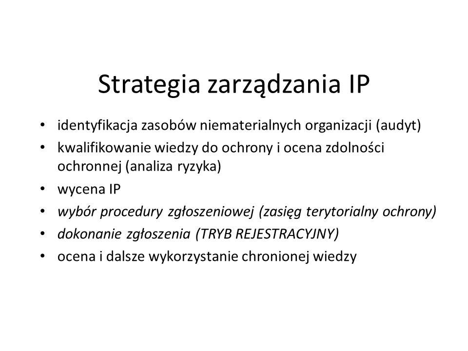 Strategia zarządzania IP