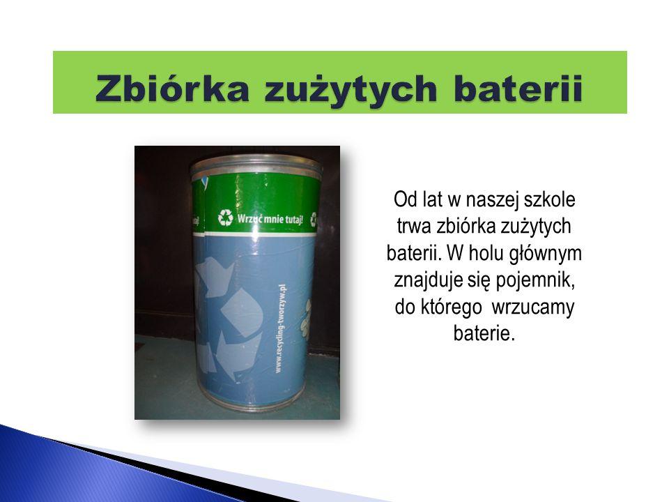 Zbiórka zużytych baterii